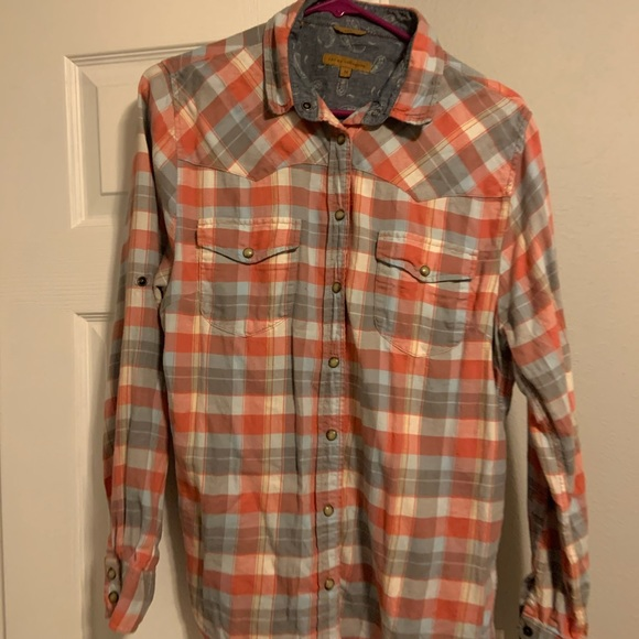 Tops - Plaid flannel top